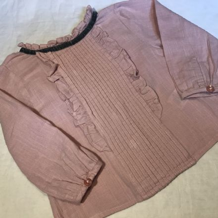 6-9 Month Dusky Pink Blouse